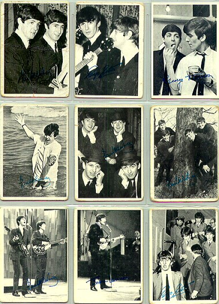 Beatles Cards Three