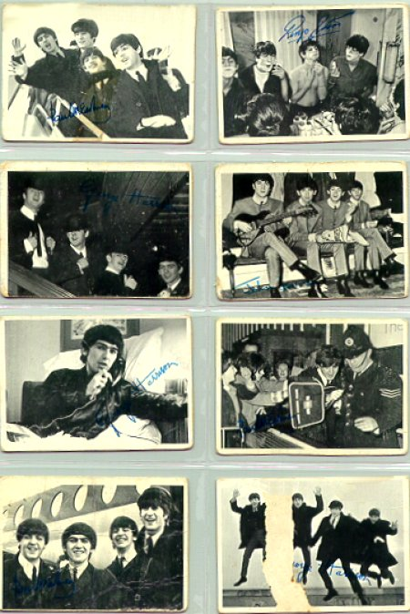 Beatles Cards Four