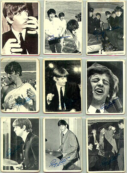 Beatles Cards Five