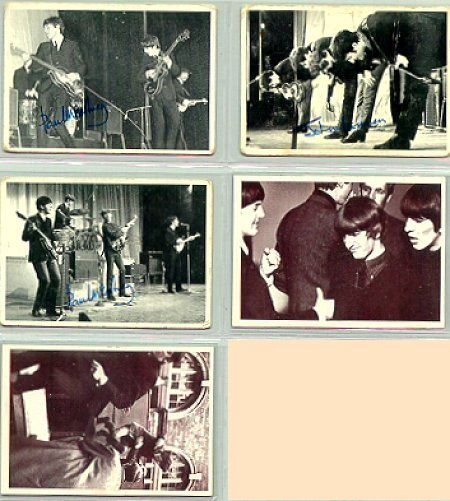 Beatles Cards Six