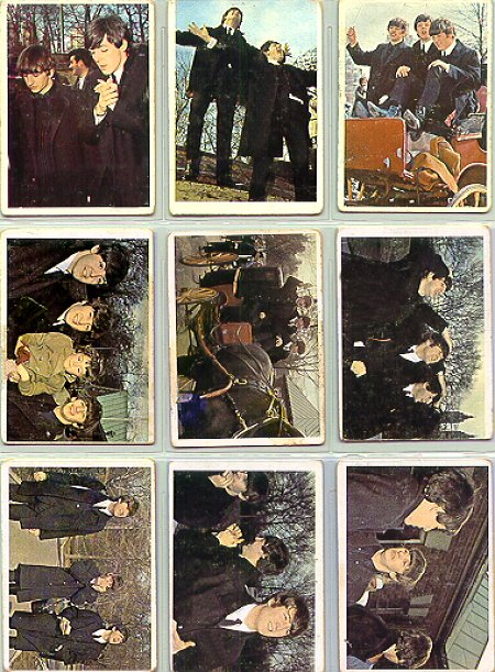 Beatles Cards Seven