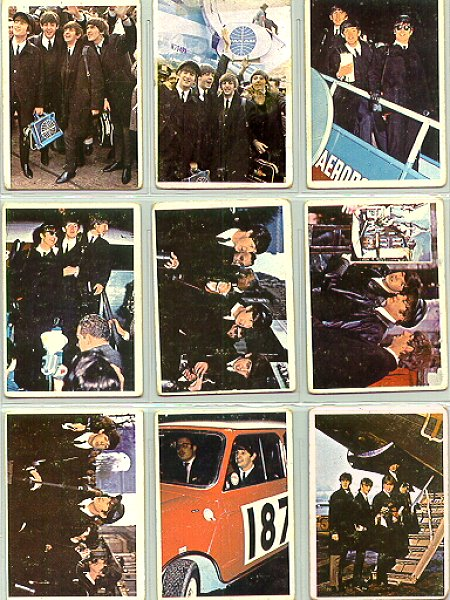 Beatles Cards Ten