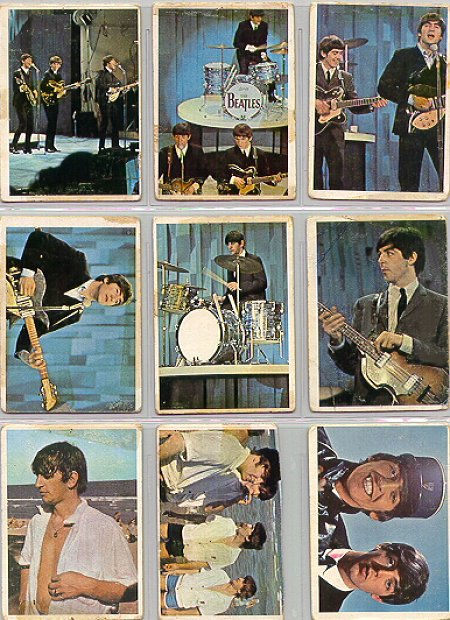 Beatles Cards Eleven