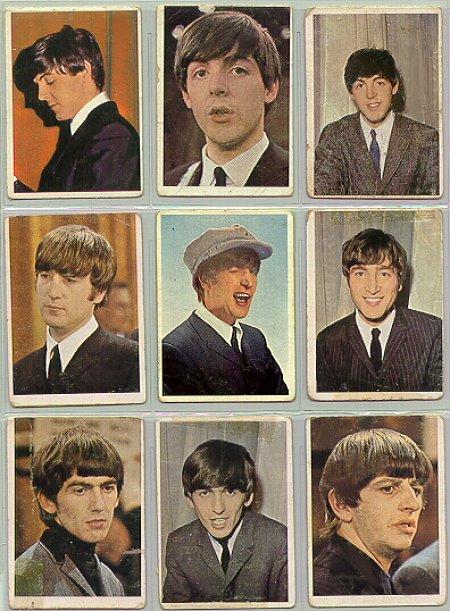 Beatles Cards Twelve