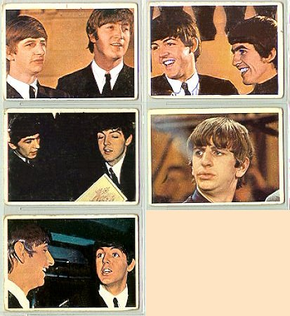 Beatles Cards Thirteen